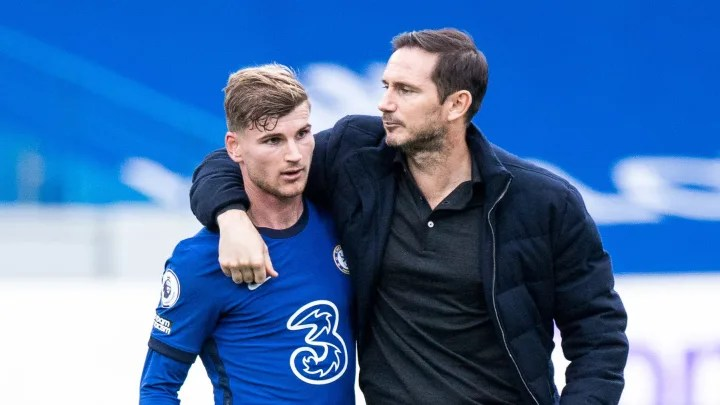 Timo Werner is falling victim to Frank Lampard's tactical rigidity