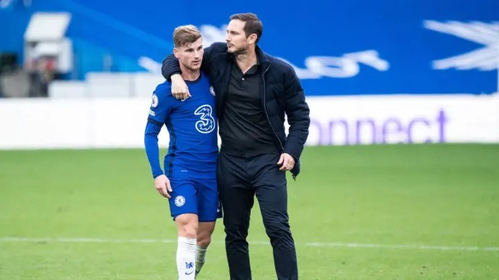 Timo Werner, Frank Lampard