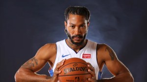 Derrick Rose Confident in Health With Pistons