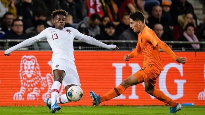 "EURO U21 2021 qualifier""The Netherlands U21 v Portugal U21"""