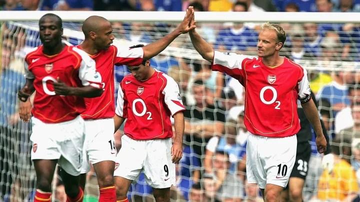 Thierry Henry, Dennis Bergkamp