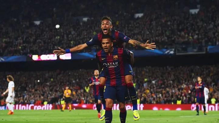 Neymar, Daniel Alves