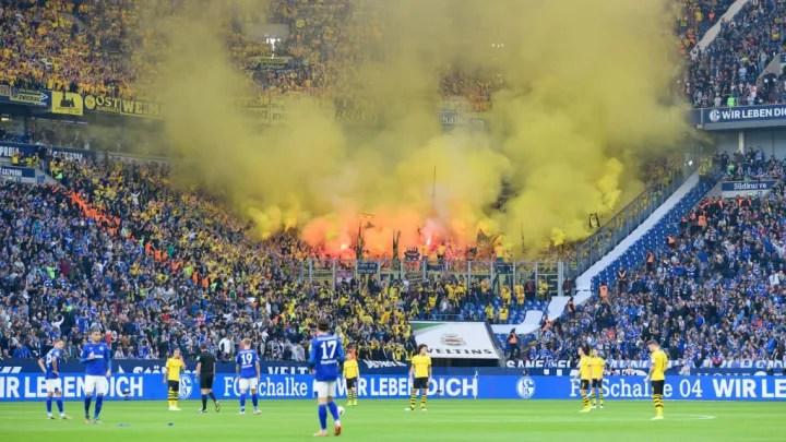Dortmund fan vermummt
