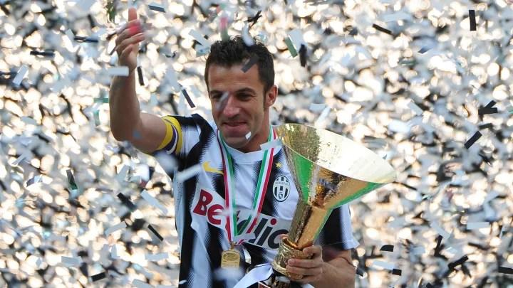 L'attaccante della Juventus Alessandro Del Piero H