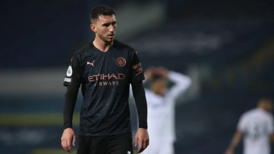 Laporte missed out on 2-0 win over Fulham at the weekend