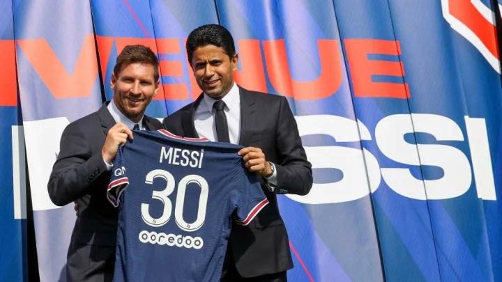 Lionel Messi, Nasser Al Khelaifi