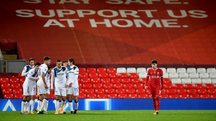 Player Ratings as Reds Slump to Champions League Defeat