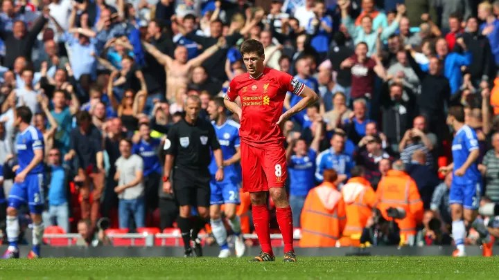On This Day in Football History - April 27: Gerrard Slips ...
