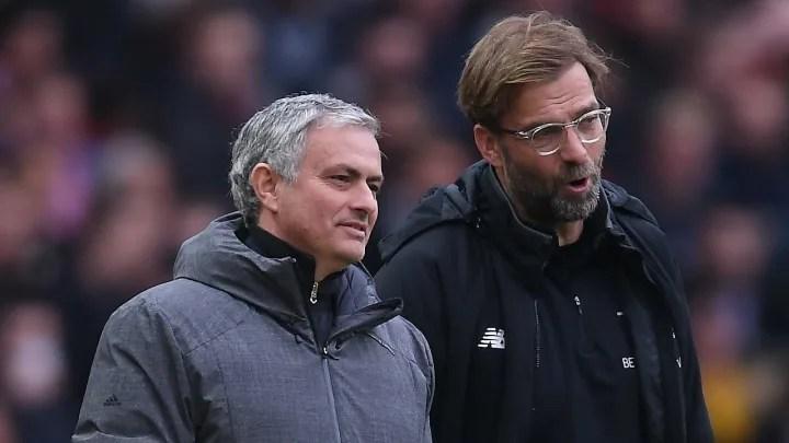 Jose Mourinho, Jurgen Klopp