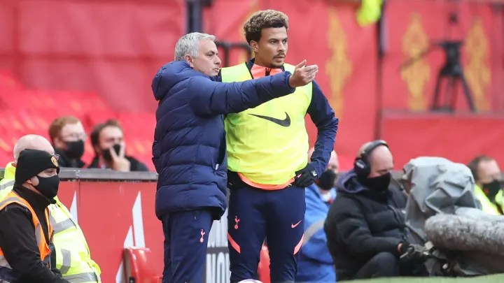 Jose Mourinho refuses to answer questions about possible Dele Alli exit