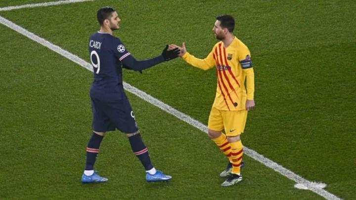 Icardi and Messi