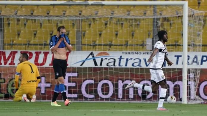 Gervinho of Parma Calcio