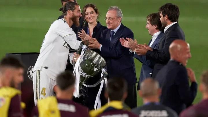 Sergio Ramos, Florentino Perez