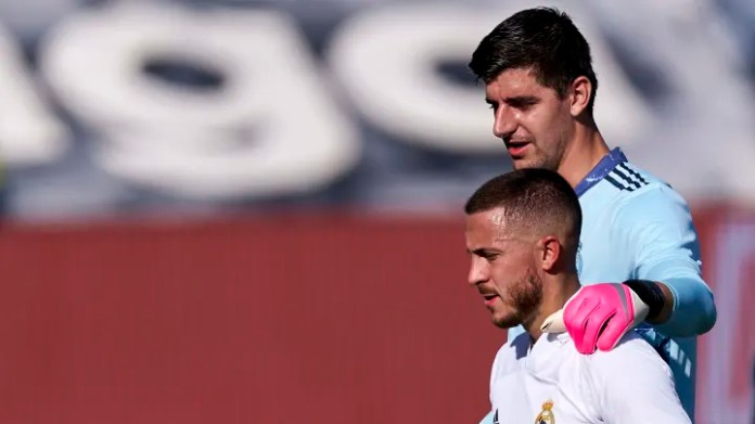 Thibaut Courtois is confident Eden Hazard will remain at Real Madrid next season