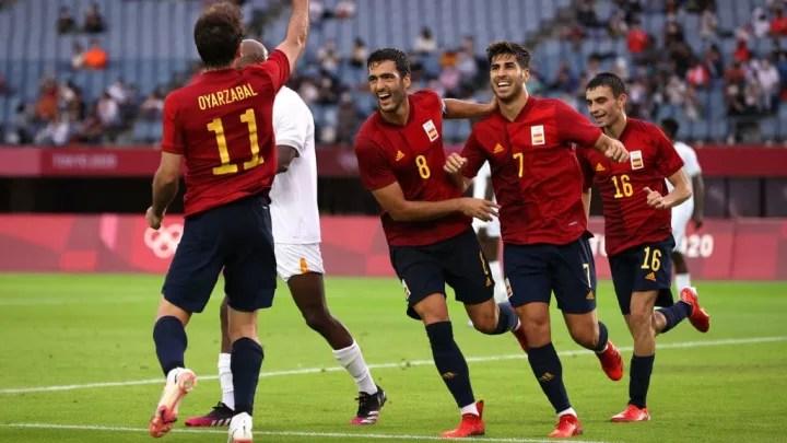 Spain v Cote dIvoire Mens Football Quarterfinal 1b0893a111429dfee4447600dac87249