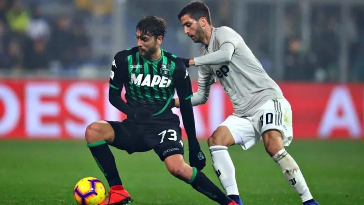 US Sassuolo v Juventus Serie A dc735327b839ebd1a889b60a9bfb2d72