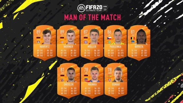 Check out which players received MOTM upgrades for Matchweek 27.