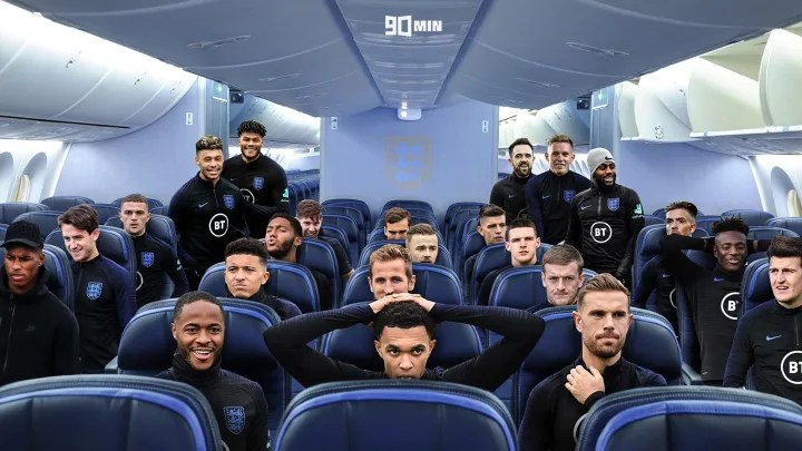 How the plane looked way back in February...