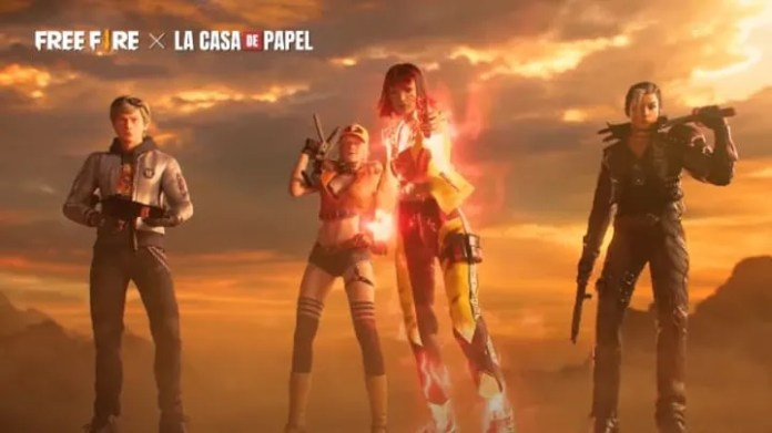 The next Free Fire event will be based on La Casa de Papel