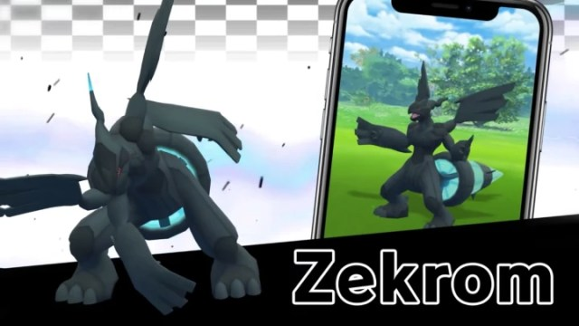 Your chance to catch Zekrom in Pokémon GO will be soon.