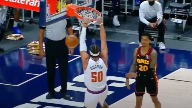 Aaron Gordon Wearing Number 50 to Promote the Documentary He Made About His  Dunk Contest Losses