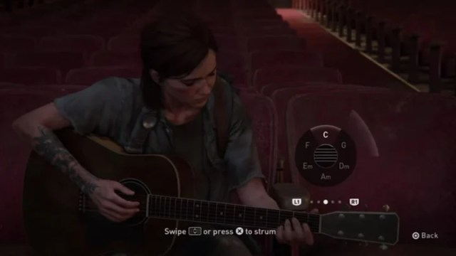 Ellie - with your help - can play almost any song using a combination of ingenuity and the in-game controls. What songs can you recreate in TLOU2?