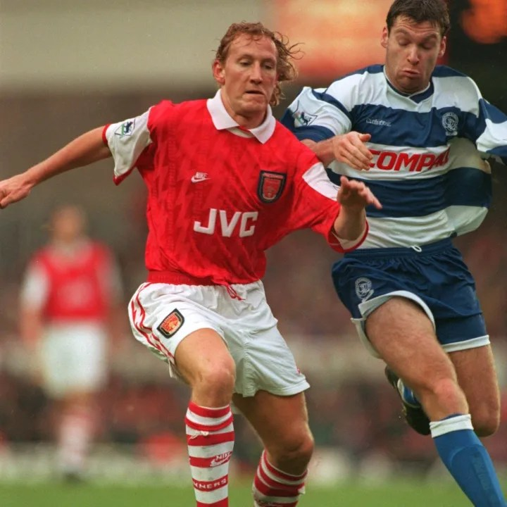 Ray Parlour was Arsenal's first #23 of the Premier League era