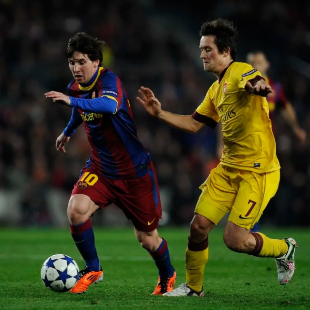 Lionel Messi, Tomas Rosicky