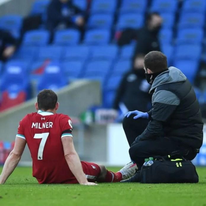 Milner është afër kthimit nga dëmtimi që pësoi larg në Brighton