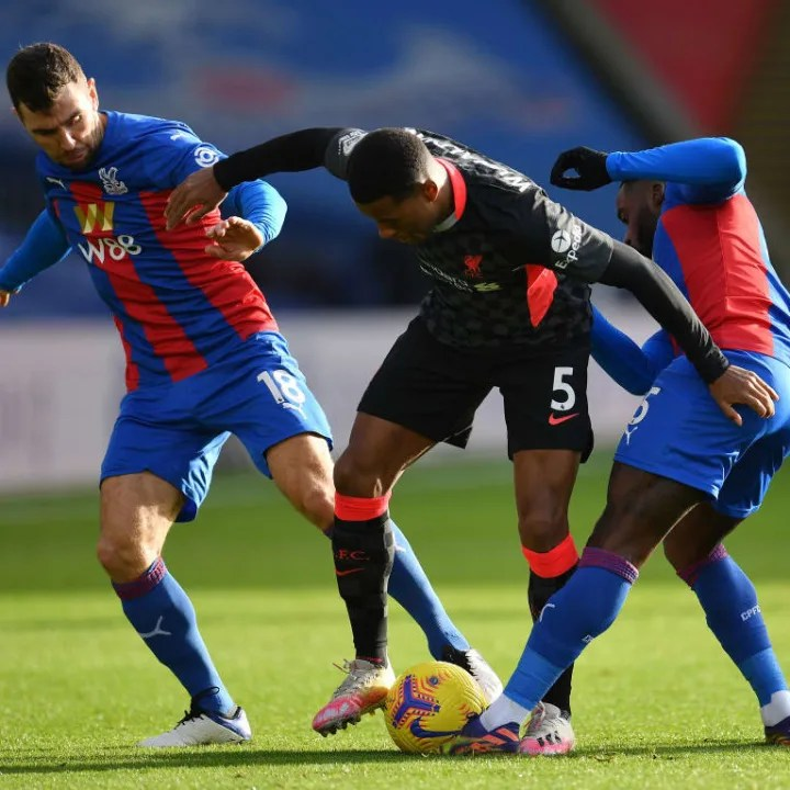 Georginio Wijnaldum, Jeffrey Schlupp and James McArthur
