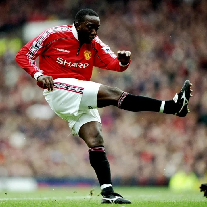 Dwight Yorke of Manchester United