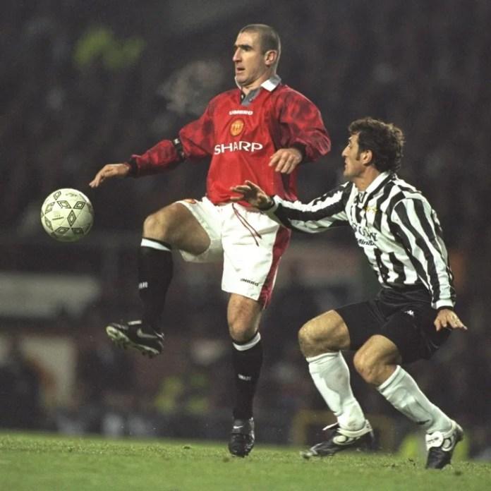 Eric Cantona i United ...