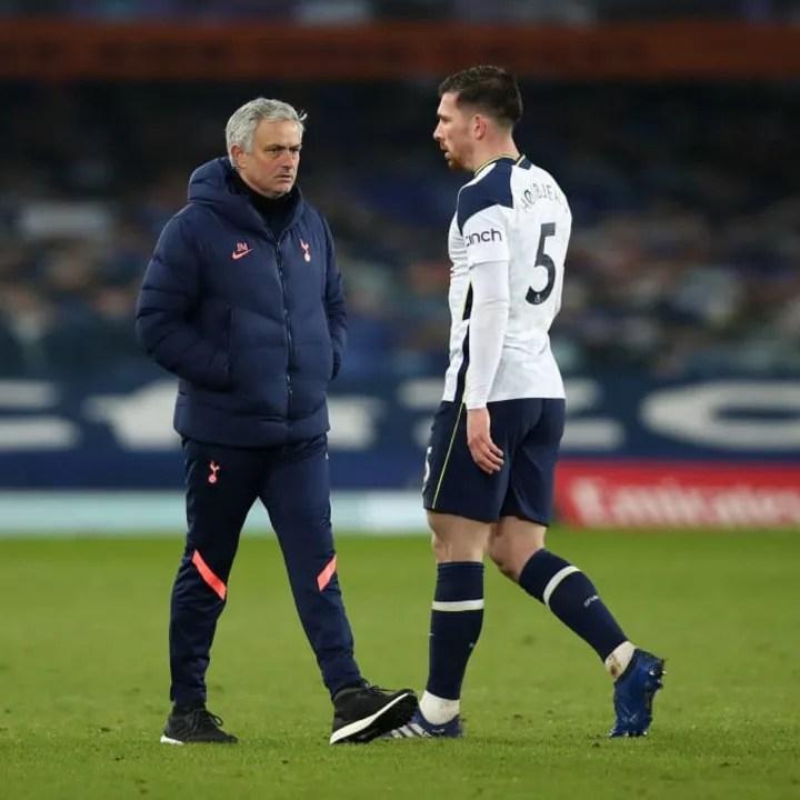Jose Mourinho, Pierre-Emile Hojbjerg
