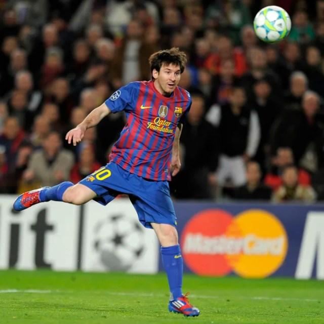 FC Barcelona's Argentinian forward Lione