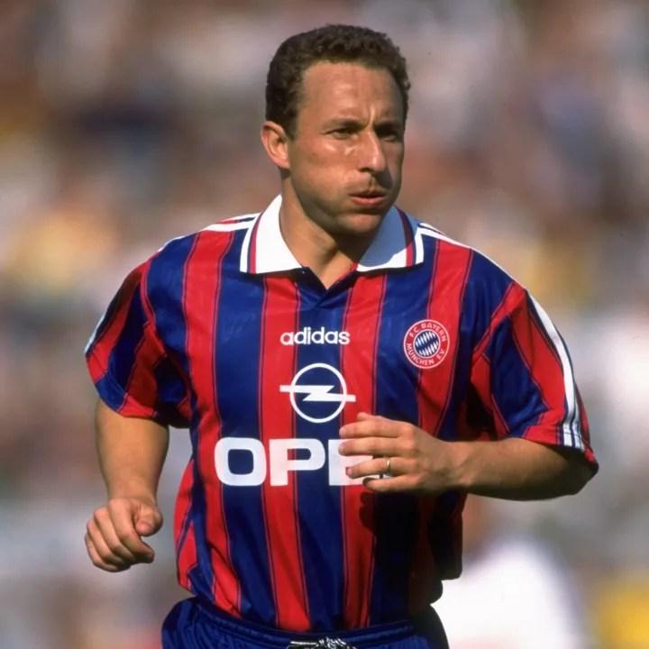 Jean Pierre Papin of Bayern Munich