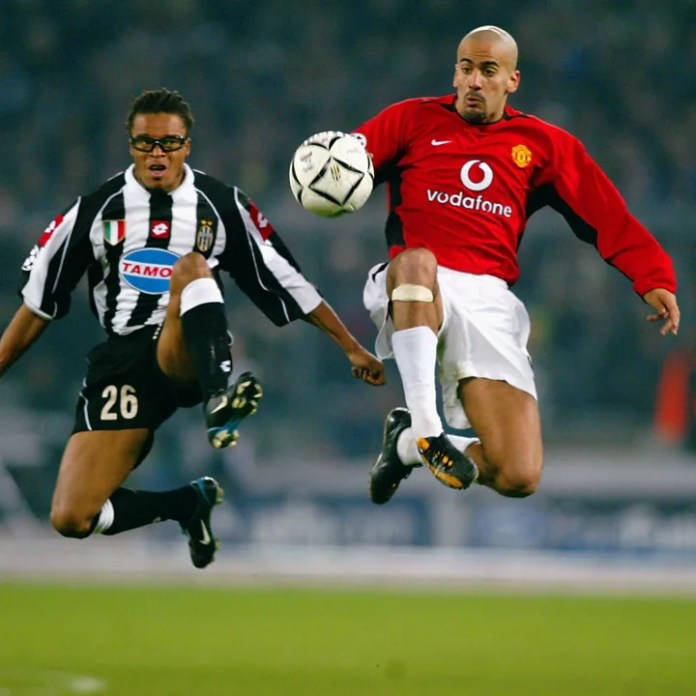 Juan Sebastian Veron i Manchester United