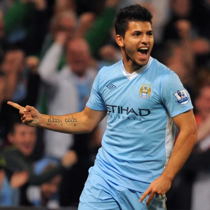 Manchester City's Argentinian forward Se