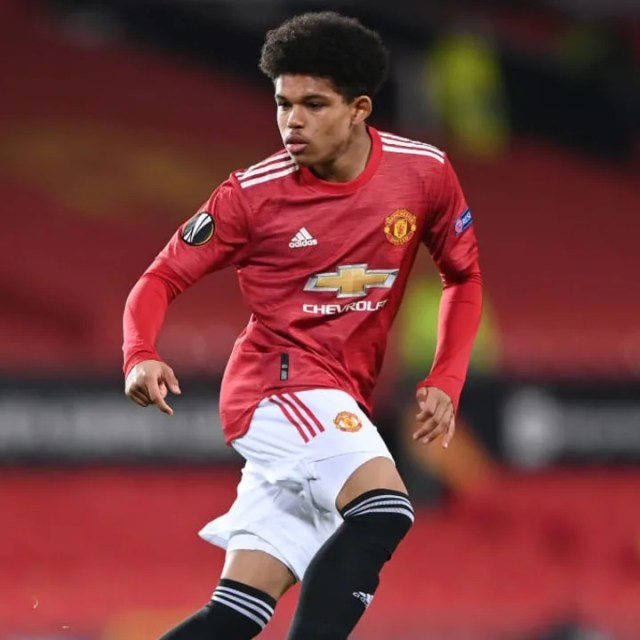 Shola Shoretire is Man Utd's youngest ever player in European competition