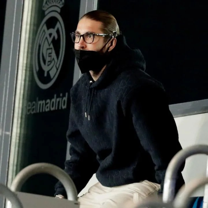 Sergio Ramos spent much of his final few months at Real watching from the sidelines