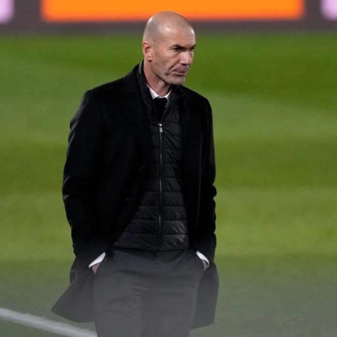 Zinedine Zidane trajneri kryesor