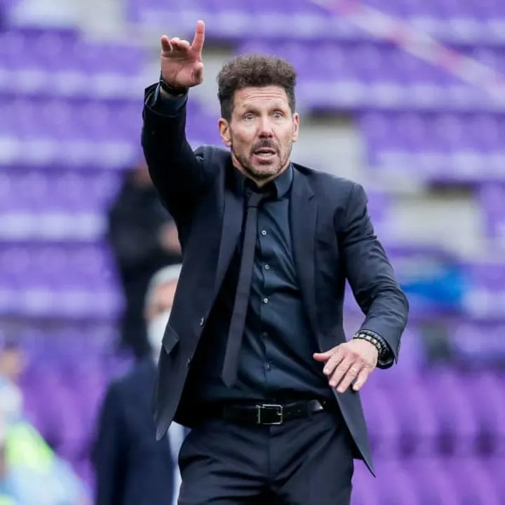 Diego Simeone is looking to defend his side's La Liga crown
