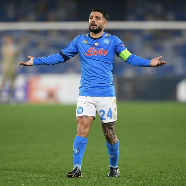 Lorenzo Insigne couldn't stop his side exiting the competition