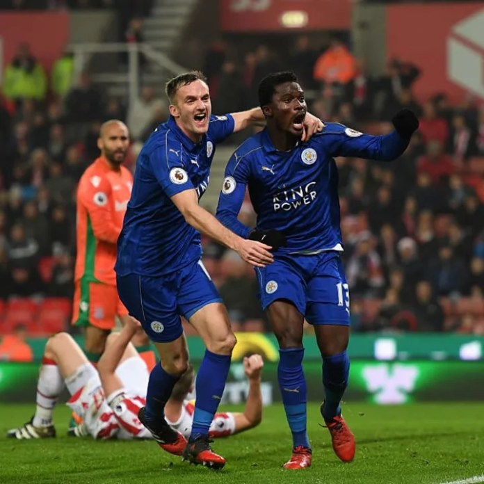 Daniel Amartey was a regular when Leicester last featured in the Champions League.