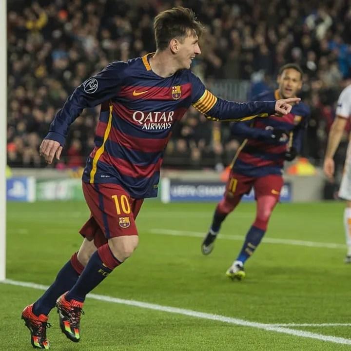 "UEFA Champions League - ""Barcelona v AS Roma"""