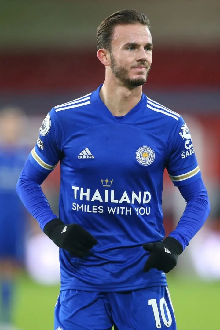 James Maddison was rested in midweek