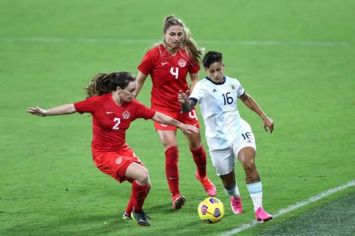 Allysha Chapman, Lorena Benítez, Shelina Zadorsky