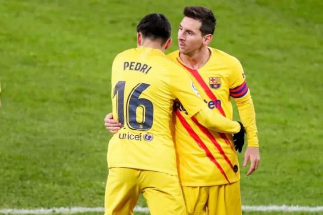 Lionel Messi, Pedri