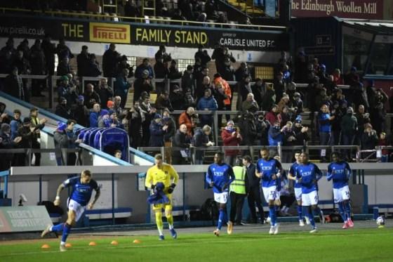 Carlisle United v Salford City - Sky Bet League Two