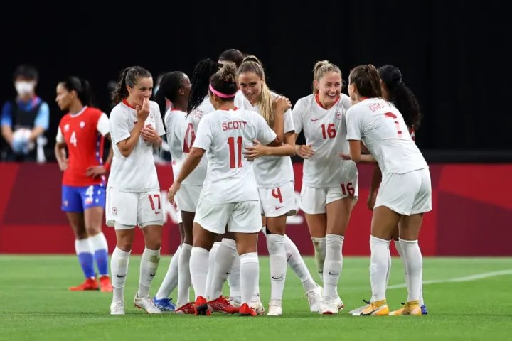 Canada got their first win by beating Chile