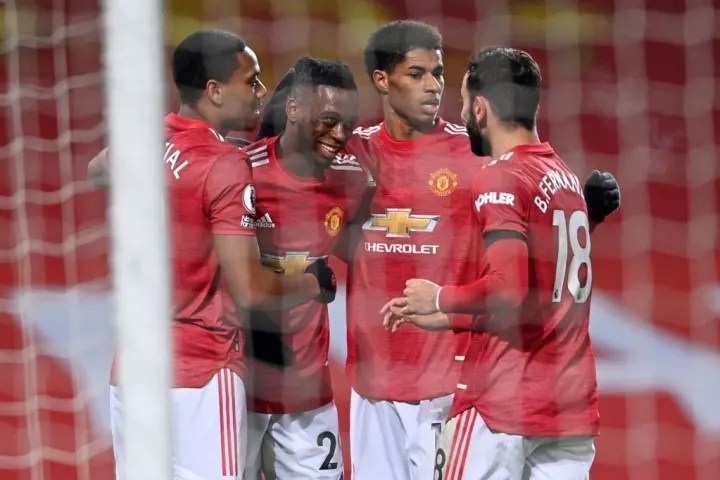 United draw on points with Liverpool after victory over Villa